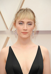 Saoirse Ronan at the 92nd Academy Awards held at the Dolby Theatre in Hollywood, USA on February 9, 2020.