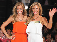 Amy & Sally Broadbent, Big Brother 2015 - Series Launch, Elstree Studios, UK, 12 May 2015, Photo by Brett D. Cove