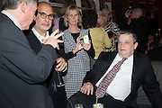 ALAN YENTOB; PHILLIPA WALKER; NORMAN ROSENTHAL, Liberatum Cultural Honour  for John Hurt, CBE in association with artist Svetlana K-Lié.  Spice Market, W London - Leicester Square