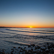Today's  sunrise  at Narragansett Town Beach, Narragansett, RI,  May  17, 2013. #Sunrise #RhodeIsland #Beach #Surf #401