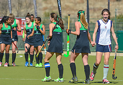 General view after the match during day two of the FNB Private Wealth Super 12 Hockey Tournament held at Oranje Meisieskool in Bloemfontein, South Africa on the 7th August 2016, <br /> <br /> Photo by:   Frikkie Kapp / Real Time Images