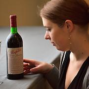 London Thu 29th Jan   Bonhams Bond Street  Photocall for  First London Wine Auction of the years of Claret from 1945 to 2005  Top Lots include  a bottle  La Tache  1985 value £1800-2000  - 3 Dozen  Chateau Lafite 1982 £ 12,000 per dozen - 1 Botttle Chateau Yquem  1944 £ 200...Standard Rates Apply.XianPix Pictures  Agency  tel +44 (0) 845 050 6211 e-mail sales@xianpix.com www.xianpix.com