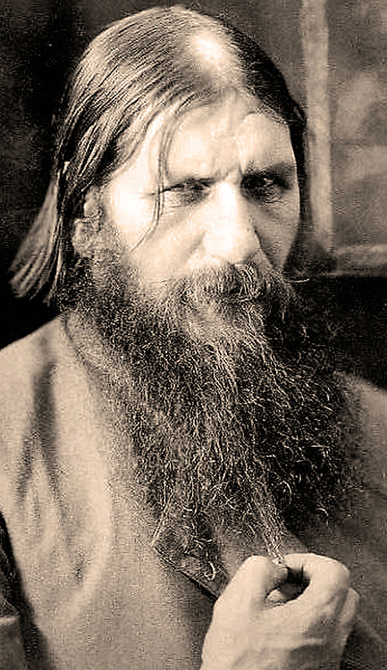 Grigori Rasputin (1869-1916) Russian mystic monk, believed by some to be a psychic and faith healer having supernatural powers. He was closely associated with the Tsarina Alexandra of Russia and was assassinated in 1916