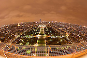Paris, France. 1er Novembre 2010..Vue de Paris depuis la Tour Eiffel..Paris, France, November 1st 2010..Paris view from the Eiffel Tower.