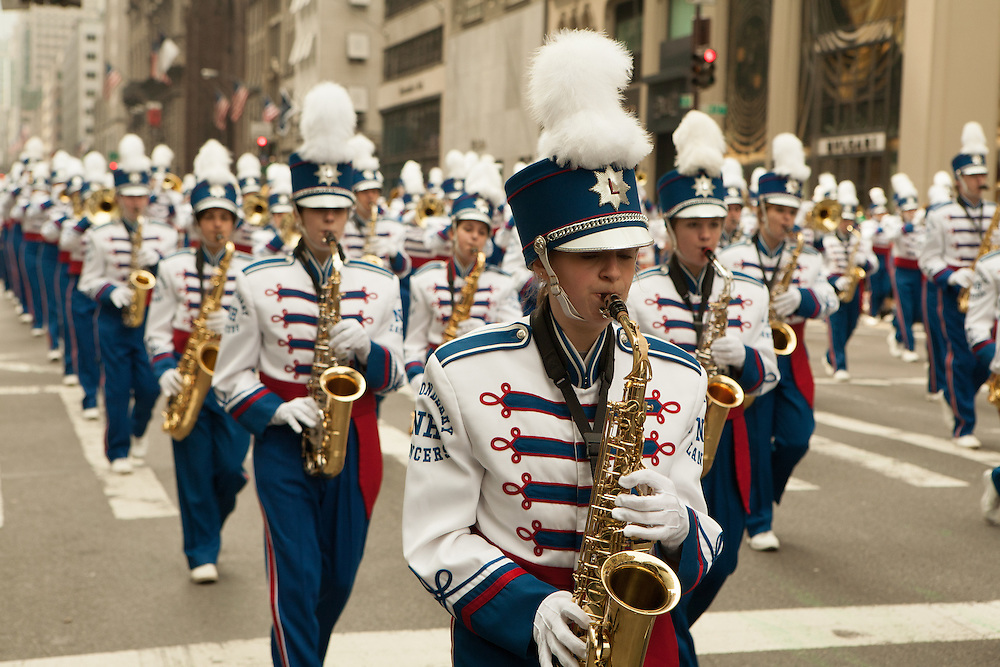 The Londonderry, NH, High School Marching Band