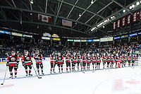 KELOWNA, CANADA - NOVEMBER 9:  on November 9, 2015 during game 1 of the Canada Russia Super Series at Prospera Place in Kelowna, British Columbia, Canada.  (Photo by Marissa Baecker/Western Hockey League)  *** Local Caption ***