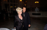 Barbara Windsor and her husband Scott Mitchell, First night for 'The Producers' at the Theatre Royal, Drury Lane and afterwards at the Waldorf Astoria. ONE TIME USE ONLY - DO NOT ARCHIVE  © Copyright Photograph by Dafydd Jones 66 Stockwell Park Rd. London SW9 0DA Tel 020 7733 0108 www.dafjones.com