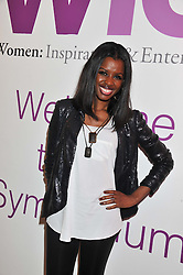 JUNE SARPONG at the annual WIE (Women: inspiration and enterprise) Awards held after the WIE Symposium... A day of inspirational talks by thought leaders and opinion formers to give young women the tools to succeed in business and life held at The Hospital Club, Endell Street, London on 8th March 2012.