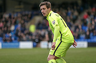 Adam Blakeman (Southport) during the Vanarama National League match between Tranmere Rovers and Southport at Prenton Park, Birkenhead, England on 6 February 2016. Photo by Mark P Doherty.