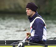 Henley. England, GB Rowing crews training on Henley Reach.<br /> Photo Peter Spurrier.<br /> 11/03/2004 - British International Rowing - Training<br /> Toby Garbutt.   [Mandatory Credit. Peter SPURRIER/Intersport Images]