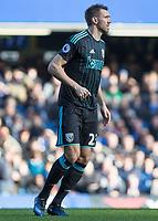 Football - 2016 / 2017 Premier League - Chelsea vs. West Bromwich Albion<br /> <br /> Gareth McAuley of West Bromwich Albion at Stamford Bridge.<br /> <br /> COLORSPORT/DANIEL BEARHAM