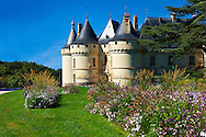 15th century castle Château de Chaumont, rebuilt by Charles I d'Amboise, acquired by Catherine de Medici in 1560. Chaumont-sur-Loire, Loir-et-Cher, France .<br /> <br /> Visit our EARLY MODERN ERA HISTORICAL PLACES PHOTO COLLECTIONS for more photos to buy as wall art prints https://funkystock.photoshelter.com/gallery-collection/Modern-Era-Historic-Places-Art-Artefact-Antiquities-Picture-Images-of/C00002pOjgcLacqI