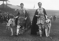 H524<br /> Tailteann Games, Aonach Tailteann. Athletes Games - Army Officers dressed in mythical outfits. <br /> Croke Park, August 1924. (Part of the Independent Newspapers Ireland/NLI Collection)