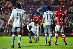 Marcus Rashford of Manchester United cuts a dejected figure - Mandatory by-line: Dougie Allward/JMP - 20/12/2017 - FOOTBALL - Ashton Gate Stadium - Bristol, England - Bristol City v Manchester United - Carabao Cup Quarter Final