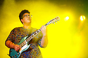 Alabama Shakes perform during Suburbia Fest in Plano, Texas on May 3, 2014.