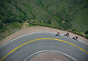 SHOT 6/10/17 10:43:22 AM - Aerial drone photos and videos of the Doug Pensinger Memorial Road Ride 2017. The 52 mile ride which took place on the one year anniversary of the passing of Getty Images photographer Doug Pensinger featured more than 30 riders many of whom had ridden with Doug in the past.  (Photo by Marc Piscotty / © 2017)
