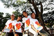 Montes Claros_MG, Brasil...Primeira turma de formandos do Programa Poupanca Jovem em Montes Claros, Minas Gerais, eles ganharam uma bolsa de tres mil reais paga pelo Governo do Estado ao final do 2 grau...The first graduating class of the Poupanca Jovem Program in Montes Claros, Minas Gerais, they won three thousand reais paid by the State Government at the end of second grade...Foto: NIDIN SANCHES / NITRO