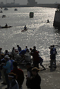 Le Havre, FRANCE, competing at the French and International, Coastal Rowing Championships. 14/10/2006. [Photo, Peter Spurrier/Intersport-images].....[Mandatory Credit Peter Spurrier/ Intersport Images] French, National and International Coastal Rowing Championships, Le Havre. FRANCE Sunrise, Sunsets, Silhouettes , Sunrise, Sunsets, Silhouettes