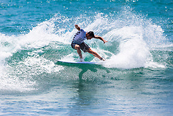 Ramzi Boukhiam (MAR) advances to Round 3 of the 2018 VANS US Open of Surfing after winning Heat 4 of Round 2 at Huntington Beach, California, USA.