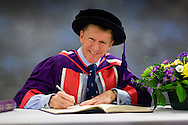 British Astronaut Tim Peake receives an Honorary Doctorate of Science Degree from the University of Portsmouth at the Guildhall in the city.<br /> Earlier, Tim spent the day at the UK Space Agency Schools Conference hosted by the University.<br /> The conference celebrated the work of over a million UK school students inspired by Peake's Principia mission, which saw the flight dynamics and evaluation graduate spend more than six months on board the International Space Station.<br /> Youngsters had the chance to present their work through talks and exhibitions to experts from the UK Space Agency, European Space Agency (ESA), partner organisations and the space sector. Most also had the chance to meet Tim.<br /> Picture date Wednesday 2nd November, 2016.<br /> Picture by Christopher Ison for the University of Portsmouth.<br /> Contact +447544 044177 chris@christopherison.com