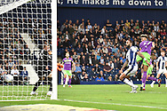 Bristol City defender Lloyd Kelly (17) scores a goal from open play 3-1 during the EFL Sky Bet Championship match between West Bromwich Albion and Bristol City at The Hawthorns, West Bromwich, England on 18 September 2018.