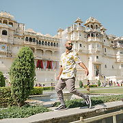 Visit of  the City Palace, a palace complex situated in the city of Udaipur, Rajasthan. It was built over a period of nearly 400 years, with contributions from several rulers of the Mewar dynasty.