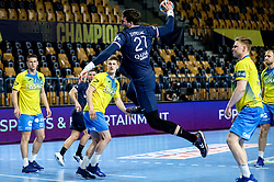 Kamil Syprzak of Paris during handball match between RK Celje Pivovarna Lasko (SLO) and Paris Saint-Germain Handball (FRA) in Round of 16 of EHF Champions League 2020/21, on April 1, 2021 in Arena Zlatorog, Celje, Slovenia. Photo by Vid Ponikvar / Sportida