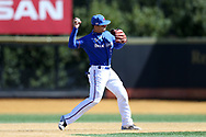 WINSTON-SALEM, NC - MARCH 04: UMass Lowell's Joey Castellanos. The Wake Forest University Demon Deacons hosted the UMass Lowell River Hawks on March 4, 2018, at David F. Couch Ballpark in Winston-Salem, NC in a Division I College Baseball game. Wake Forest won the game 14-7.