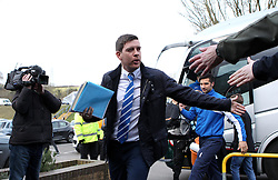 Bristol Rovers Manager Darrell Clarke arrives for the game at Wycombe Wanderers - Mandatory byline: Robbie Stephenson/JMP - 27/02/2016 - FOOTBALL - Adams Park - Wycombe, England - Wycombe Wanderers v Bristol Rovers - Sky Bet League Two