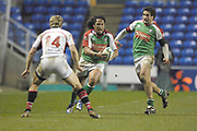Reading, GREAT BRITAIN, [R] Juan LEGUIZAMON, during the third round Heineken Cup game, London Irish vs Ulster Rugby, at the Madejski Stadium, Reading ENGLAND, Sat., <br /> 09.12.2006. [Photo Peter Spurrier/Intersport Images]