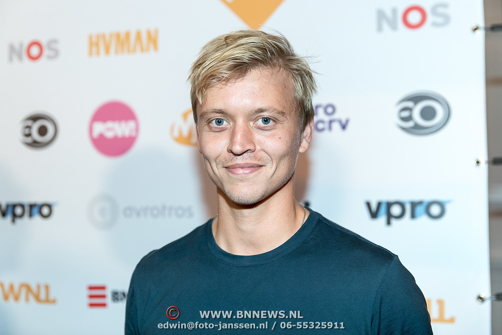 NLD/Hilversum//20170828 - NPO Seizoensopening 2017/2018, Nicolaas Veul