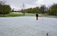 WILNIS - kennismaken met golf tijdens Open Golfdag op Wilnis Golfpark .  COPYRIGHT KOEN SUYK