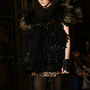 Rocky Star showcases is latest collection at Fashion Scout London Fashion Week AW19 on 16 Feb 2019, at Freemasons' Hall, London, UK.