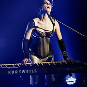 Amanda Palmer and The Grand Theft Orchestra live at Turner Hall Ballroom in Milwaukee, WI. Photo © 2012 Jennifer Rondinelli Reilly. All rights reserved. No use without permission. Contact me for any reuse or licensing inquires.