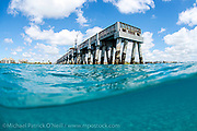 Lake Worth Pier, situated in northern Palm Beach County, is a popular destination for shore based recreational fishing and family fun.