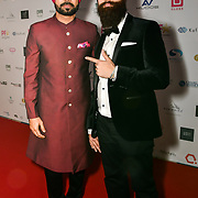 Binnu Dhillon is an actor attend the BritAsiaTV Presents Kuflink Punjabi Film Awards 2019 at Grosvenor House, Park Lane, London,United Kingdom. 30 March 2019