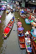 kanchanaburi floating market, Thailand