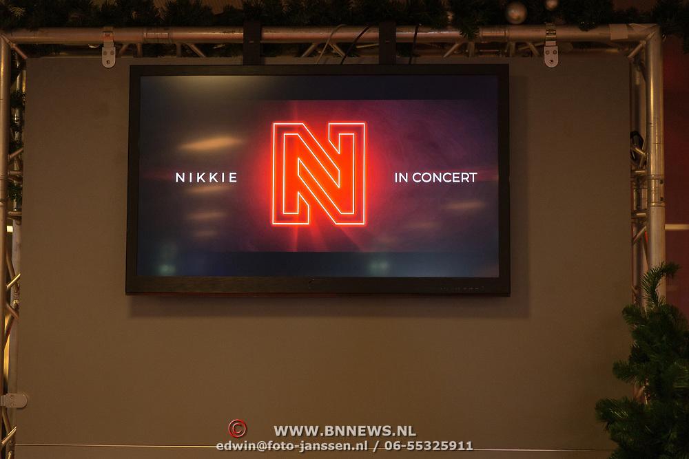 NLD/Amsterdam/20181211 - BN'ers bij Nikki in Concert, Logo Nikkie in Concert