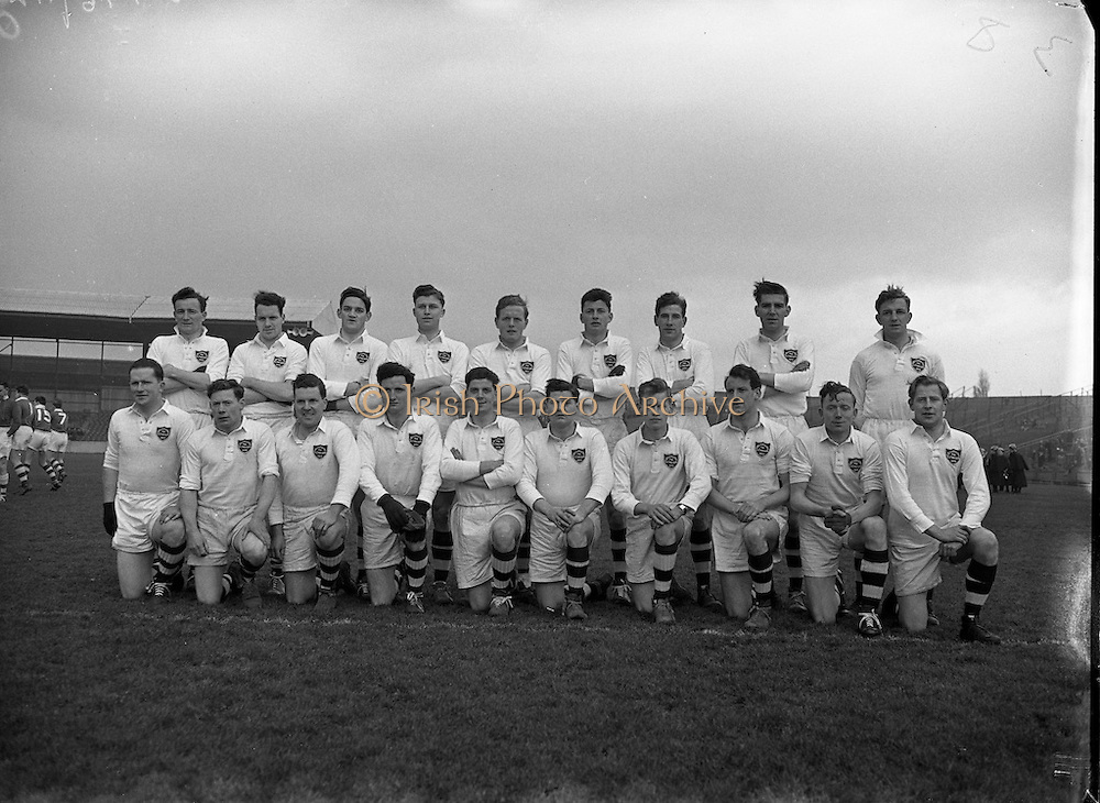 06/03/1955<br /> 03/06/1955<br /> 06 March 1955<br /> <br /> Combined Universities and The Rest v Ireland at Croke Park.  Combined Universities and The Rest Team.