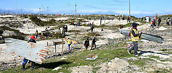 SOUTH AFRICA - Cape Town - 28 July 2020 - Demolition of shacks by Law Enforcement  officers continues in Khayelitsha.This is after residents of Harare and Makhaza invaded a piece of land. Picture: Phando Jikelo/African News Agency(ANA)