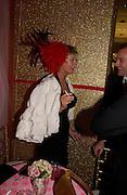Pandora Delavigne. Selfridges Las Vegas dinner hosted by  hon Galen , Hillary Weston and Allanah Weston. Selfridges Oxford St. 20 April 2005. ONE TIME USE ONLY - DO NOT ARCHIVE  © Copyright Photograph by Dafydd Jones 66 Stockwell Park Rd. London SW9 0DA Tel 020 7733 0108 www.dafjones.com