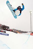 Snowboard , snøbrett - ST.GEORGEN OB MURAU,AUSTRIA,07.JAN.10 - SNOWBOARD - FIS Weltcup Kreischberg, Halfpipe, Herren. Bild zeigt Tore Holvik (NOR). <br /> <br /> Norway only