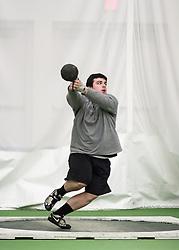 Bowdoin Indoor 4-way track meet: mens weight throw