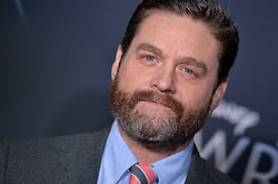 Zach Galifianakis attends the premiere of Disney's 'A Wrinkle In Time' at the El Capitan Theatre on February 26, 2018 in Los Angeles, California. Photo by Lionel Hahn/AbacaPress.com