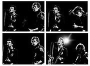 Joe Strummer and Paul Simonon The Clash live in London
