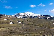 Mountainlandscape in Snaefellsjökull National Park. Iceland.