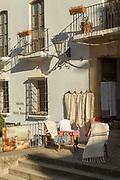 Fabric store in Ronda, Spain