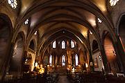 Cathédrale Saint-Maurice de Mirepoix, roman catholic, Mirepoix, Ariege, Midi-Pyrenees, France.