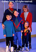 Exercise, Family Portrait at Ice Skating Rink, Mechanicsburg, PA