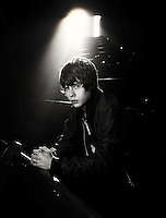 **HOLD FOR STORY** Music Artist Jake Bugg poses for a portrait at the Ryman Auditorium on February 1, 2014 in Nashville, Tenn. (Photo by Donn Jones/Invision/AP)